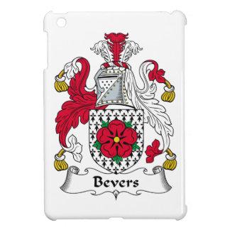 Escudo de la familia de Bevers iPad Mini Cobertura