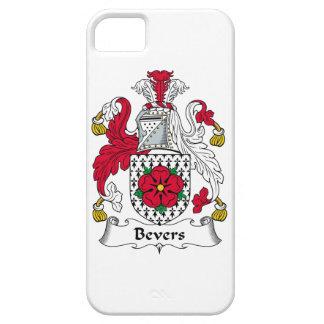 Escudo de la familia de Bevers iPhone 5 Carcasa