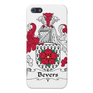 Escudo de la familia de Bevers iPhone 5 Carcasas