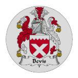 Escudo de la familia de Bevis Juego De Fichas De Póquer