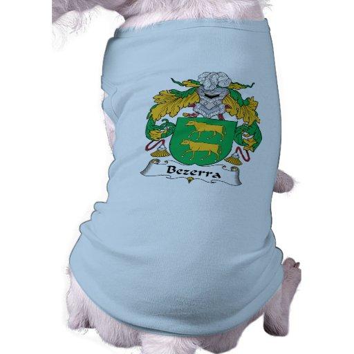 Escudo de la familia de Bezerra Camisa De Mascota