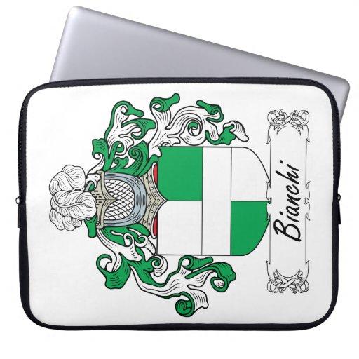 Escudo de la familia de Bianchi Fundas Portátiles