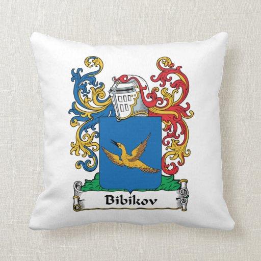 Escudo de la familia de Bibikov Cojín