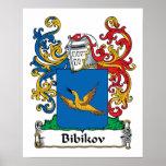 Escudo de la familia de Bibikov Impresiones