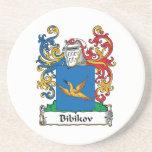 Escudo de la familia de Bibikov Posavasos Diseño