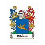 Escudo de la familia de Bibikov Postales