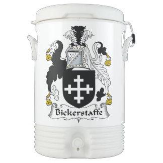Escudo de la familia de Bickerstaffe Vaso Enfriador Igloo