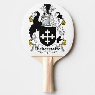 Escudo de la familia de Bickerstaffe Pala De Tenis De Mesa