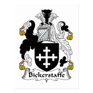 Escudo de la familia de Bickerstaffe Postal