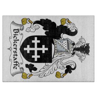 Escudo de la familia de Bickerstaffe Tablas Para Cortar
