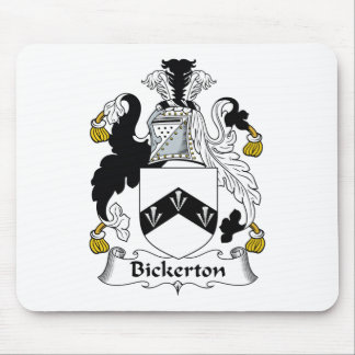 Escudo de la familia de Bickerton Alfombrillas De Ratones