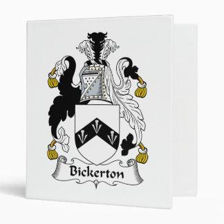 """Escudo de la familia de Bickerton Carpeta 1"""""""