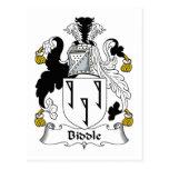 Escudo de la familia de Biddle Postal