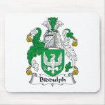 Escudo de la familia de Biddulph Alfombrilla De Raton