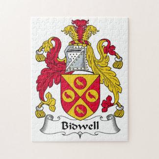 Escudo de la familia de Bidwell Puzzles Con Fotos