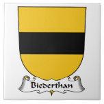 Escudo de la familia de Biederthan Azulejos