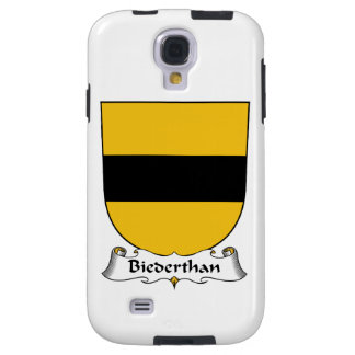 Escudo de la familia de Biederthan Funda Para Galaxy S4
