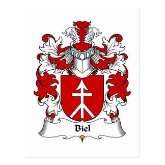 Escudo de la familia de Biel Postales