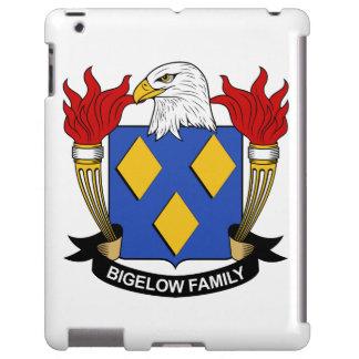 Escudo de la familia de Bigelow Funda Para iPad