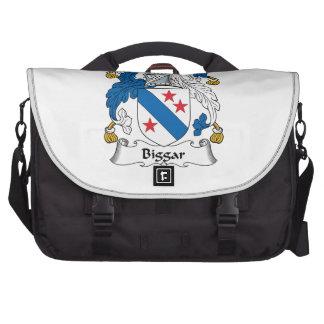 Escudo de la familia de Biggar Bolsas Para Ordenador