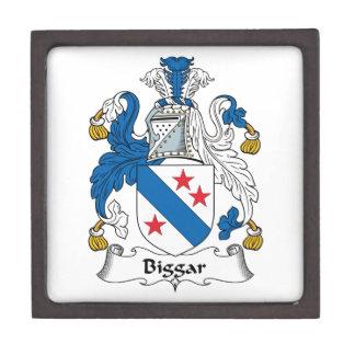 Escudo de la familia de Biggar Cajas De Regalo De Calidad