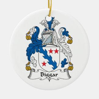 Escudo de la familia de Biggar Ornatos
