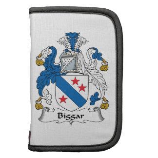 Escudo de la familia de Biggar Organizador
