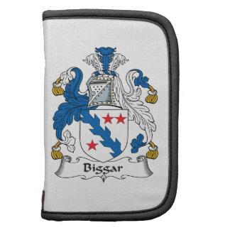Escudo de la familia de Biggar Planificadores