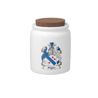 Escudo de la familia de Biggar Jarras Para Caramelos