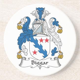 Escudo de la familia de Biggar Posavasos Diseño