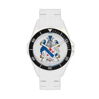 Escudo de la familia de Biggar Reloj De Mano