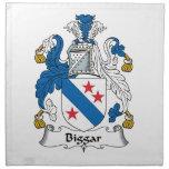 Escudo de la familia de Biggar Servilleta De Papel