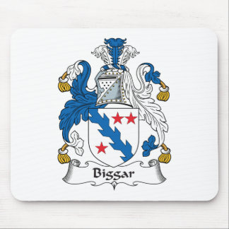 Escudo de la familia de Biggar Tapetes De Ratón