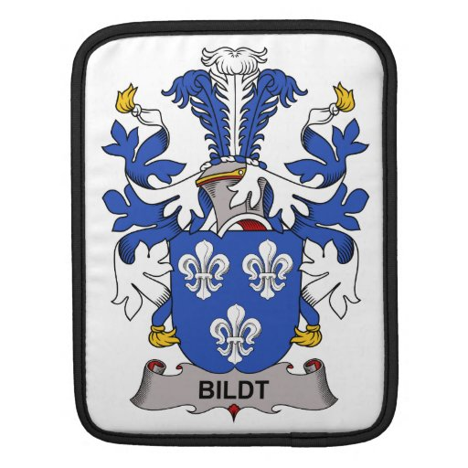 Escudo de la familia de Bildt Mangas De iPad