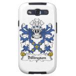 Escudo de la familia de Billington Galaxy SIII Funda