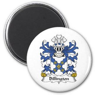 Escudo de la familia de Billington Iman De Frigorífico