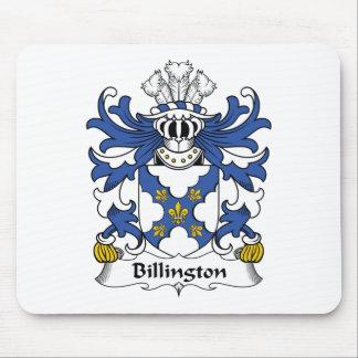 Escudo de la familia de Billington Alfombrillas De Ratón