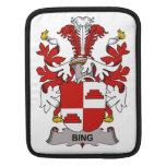 Escudo de la familia de Bing Funda Para iPads