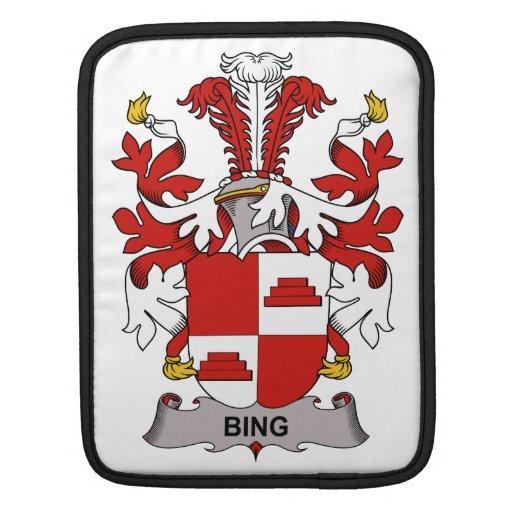 Escudo de la familia de Bing Fundas Para iPads