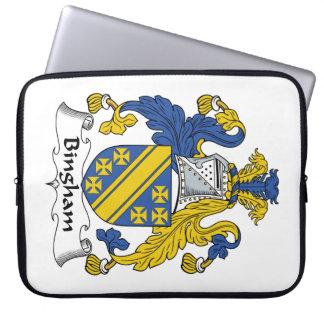 Escudo de la familia de Bingham Funda Computadora