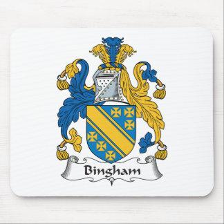 Escudo de la familia de Bingham Tapete De Raton