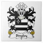 Escudo de la familia de Bingley Azulejos Cerámicos