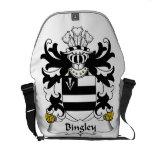 Escudo de la familia de Bingley Bolsas De Mensajeria