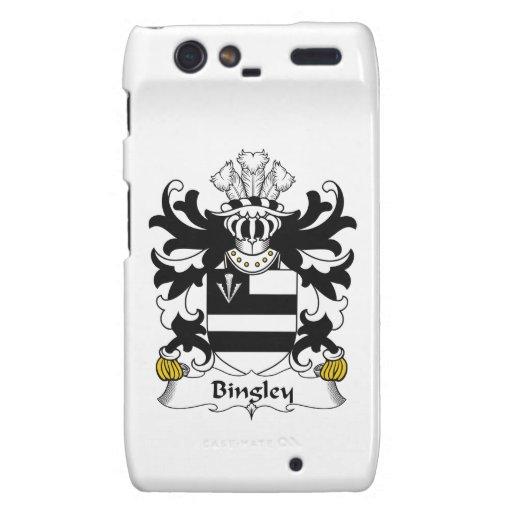 Escudo de la familia de Bingley Droid RAZR Fundas