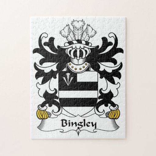 Escudo de la familia de Bingley Puzzle Con Fotos