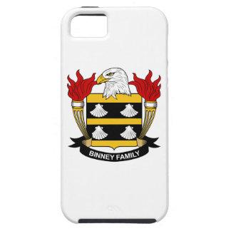 Escudo de la familia de Binney iPhone 5 Case-Mate Protector
