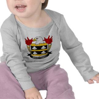 Escudo de la familia de Binney Camisetas