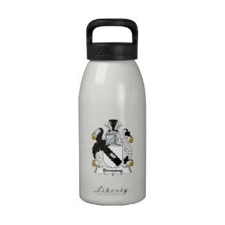 Escudo de la familia de Binning Botella De Agua Reutilizable