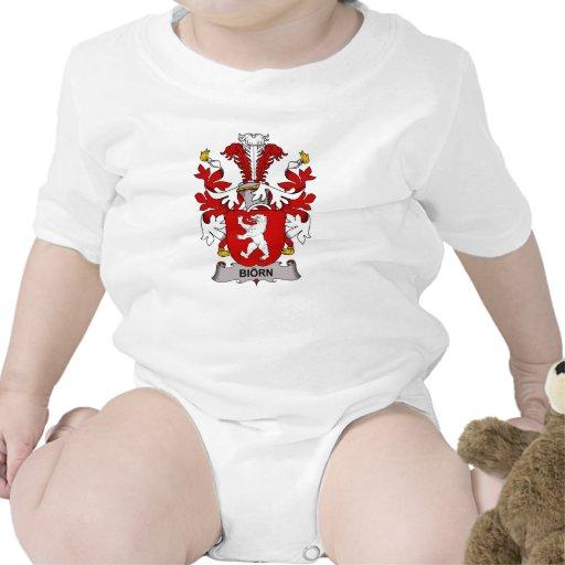 Escudo de la familia de Biorn Camisetas