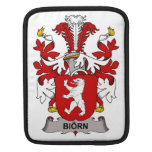 Escudo de la familia de Biorn Funda Para iPads